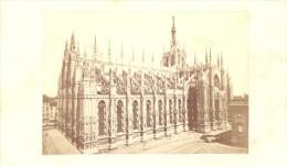 Milano Duomo Panorama Italy Old CDV Photo 1860' - Old (before 1900)