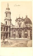 Loreto Chiesa Italy Old CDV Photo 1860' - Anciennes (Av. 1900)