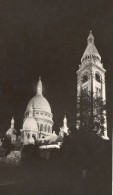 Sacre Coeur Church By Night Old Borremans Photo 1937 - Non Classés