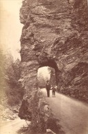 Narrow Pass Tamina Ragatz Switzerland Old Photo 1880' - Photographs