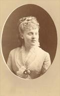 Reichenberg Actress Comedie Française Old CDV Photo 19C