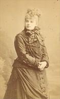 Croizette Actress Comedie Française Old CDV Photo 1860'