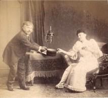 Sunday Family Funny Scene Meudon Old Photo 1900 - Photographs