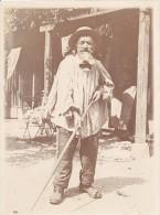 Aubonne France Old Gardener M. Gnochet Old Photo 1900 - Photographs