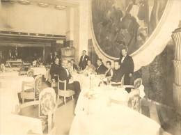 Paquebot Ile De France Captain Table Old Photo 1930' - Boats