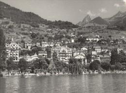Switzerland Geneva Lake Houses Old Photo 1950' - Photographs