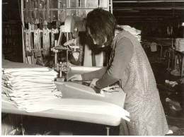 Belgium Quaregnon Textile Women Workers Old Photo 1963 - Photographs