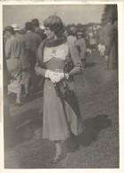 Auteuil Horse Race-Course Top Fashion Lady Photo 1920' - Photographs