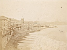 Italy Genoa Pegli Panorama Old Snapshot Photo 1899 - Fotos