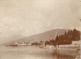 Italy Maggiore Lake Pallanza View Snapshot Photo 1899 - Photographs