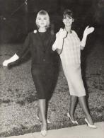 French Fashion Lady Model Tartarin Billet Photo 1960 - Photographs