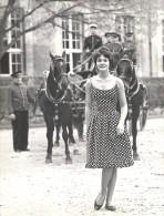 French Fashion Lady Model Joppy Old Astre Photo 1960 - Photographs