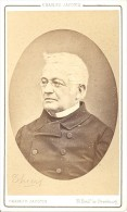 Political Adolphe Thiers France Old CDV Jacotin 1860' - Old (before 1900)