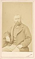 French Senator Henri Chevreau Old Nadar CDV Photo 1865' - Old (before 1900)