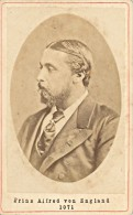 Great Britain Royalty Prince Alfred Old CDV Photo 1865' - Photographs