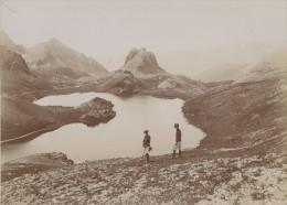 Alpes Mercantour Chasseurs Alpins Military Photo 1902 - Guerre, Militaire