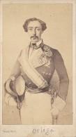 Spain General Ortega Carlist Party CDV Photo 1860´ - Oud (voor 1900)