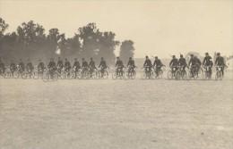 Saumur Military French Cycling Real Photo Postcard 1910 - Photos