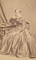 Woman Paris Second Empire Fashion Old Marck CDV 1860' - Photographs