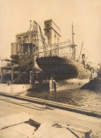 France Marseille Harbour Water-Crane Old Photo 1930' - Unclassified
