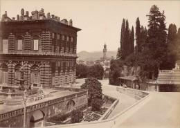 Firenze Palazzo Vecchio Da Boboli Italy Old Photo 1875' - Photographs