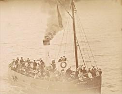 France Dieppe Steamer JB Pollet Old Photo 1900' - Photographs