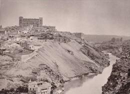 Spain Toledo Panorama Old Photo Hauser Menet 1897 - Photographs