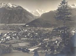 Switzerland Interlaken Jungfrau Alpes Old Photo 1900 - Photographs
