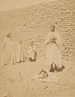 Tunisia Snake Charmer Tunis Old Photo 1880' - Anciennes (Av. 1900)