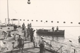 Oran Mers El Kebir French Military Ship Old Photo 1940 - Oorlog, Militair