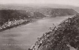 St Goar Goarhausen Germany Rheinlande Old Cabinet Card Photo CC 1897 - Photographs