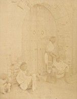 Tunis Arab Street Barber Tunisia Garrigues Photo 1880 - Photographs