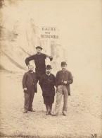 Four Buddy Friends Le Tréport Instantaneous Photo 1883 - Old (before 1900)