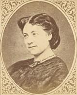 Actress Madeleine Brohan France Old CDV Figaro 1875