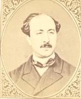 Journalist Prevost Paradol France Old CDV Figaro 1875 - Photographs