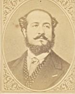 Writer Journalist De Pene France Old CDV Figaro 1875 - Photographs