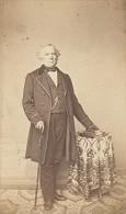 Fashion Second Empire Cane Man France CDV Photo 1865 - Photographs
