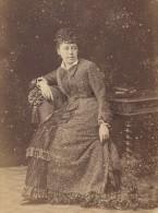 Opera Singer P De Rethe Signed France Old Cabinet Card Photo CC 1880 - Photographs