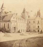 Château De Bourbon Busset Vichy Couton Stereoview 1865 - Stereoscopic