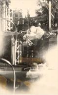 Amateur Misfire Snapshot Strange France Old Photo 1943 - Unclassified