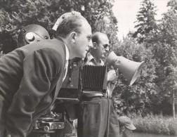 JP Melville Studio Film Photo At Work Paris France 1960 - Photographs