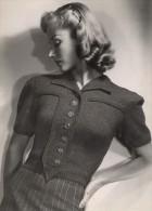 Anny Blatt Fashion Model Paris Old Vigneau Photo 1935 - Unclassified