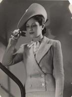 Anny Blatt Fashion Model Paris Old Vigneau Photo 1935 - Photographs