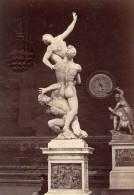 Firenze Giambologna Statue Barometer Italy Photo 1880 - Photographs