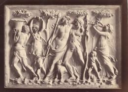Bas Relief Two Friend Roman Empire Sculpture Photo 1880 - Photographs