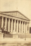 Corps Legislatif Paris France Old CDV Photo 1867 - Photographs