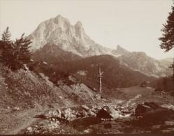 Pic Du Midi Ossau Pyrenees Mountain Old Photo 1900 - Photographs