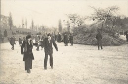 Paris Ice Skater Sport Winter Old Photo 1900 - Sports