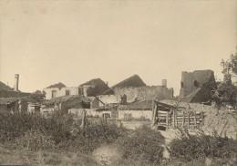 First World War WWI Acheres France Old Photo 1916 - War, Military