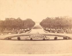 Versailles Castle Second Empire Old Plaut Photo 1860 - Photographs